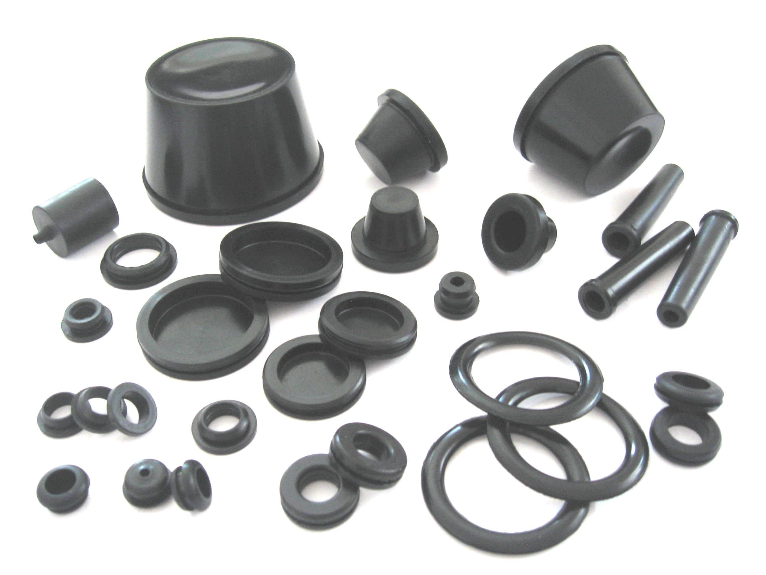 12. dławiki gumowy do przewodów, dławiki z membraną lub bez, przelotki kablowe i dławnice gumowe typ BDE