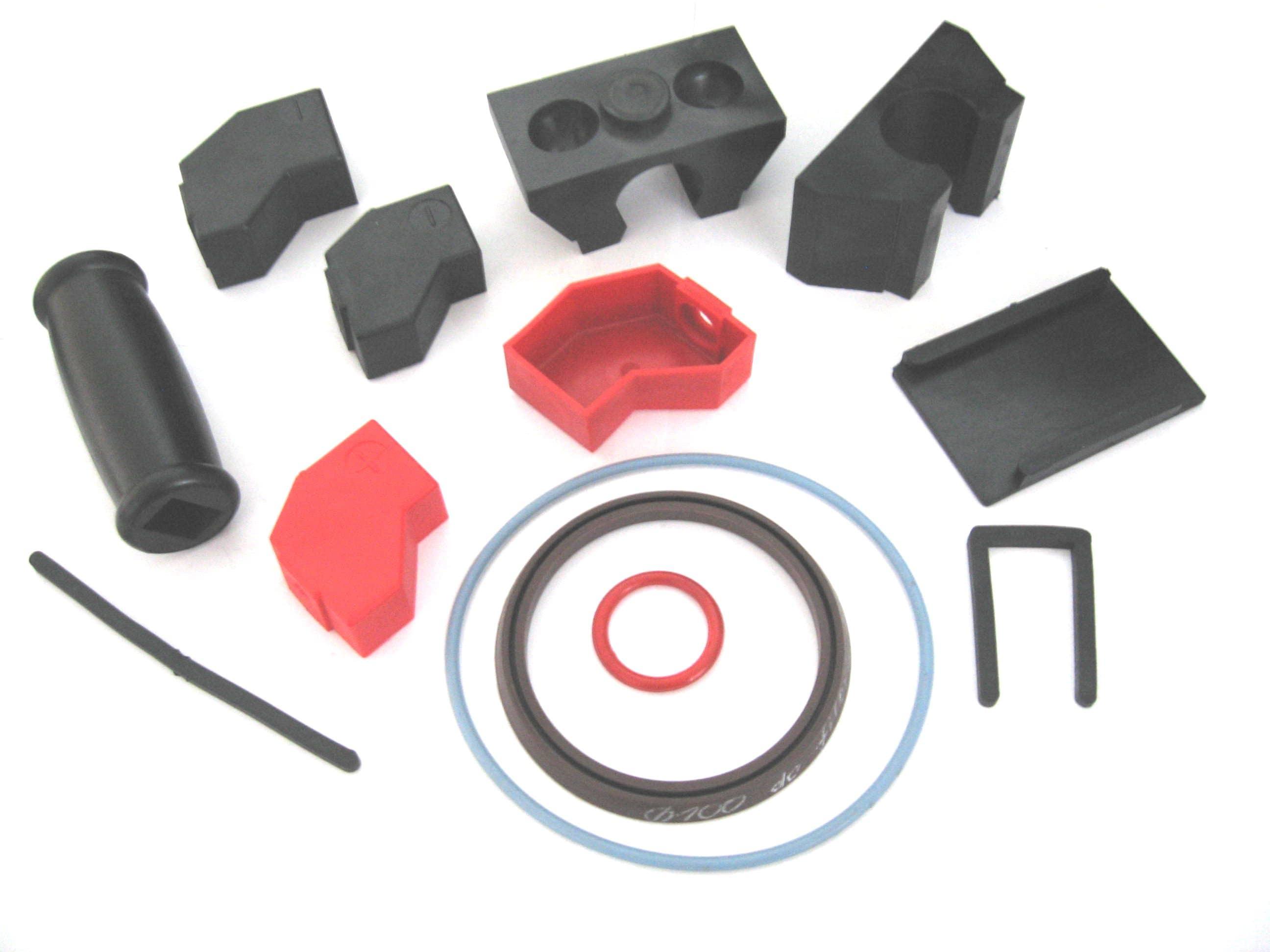23. osłony klemy, rączka gumowa, oringi silikonowe, wkład uchwytu plandeki D35, nakładki i inne